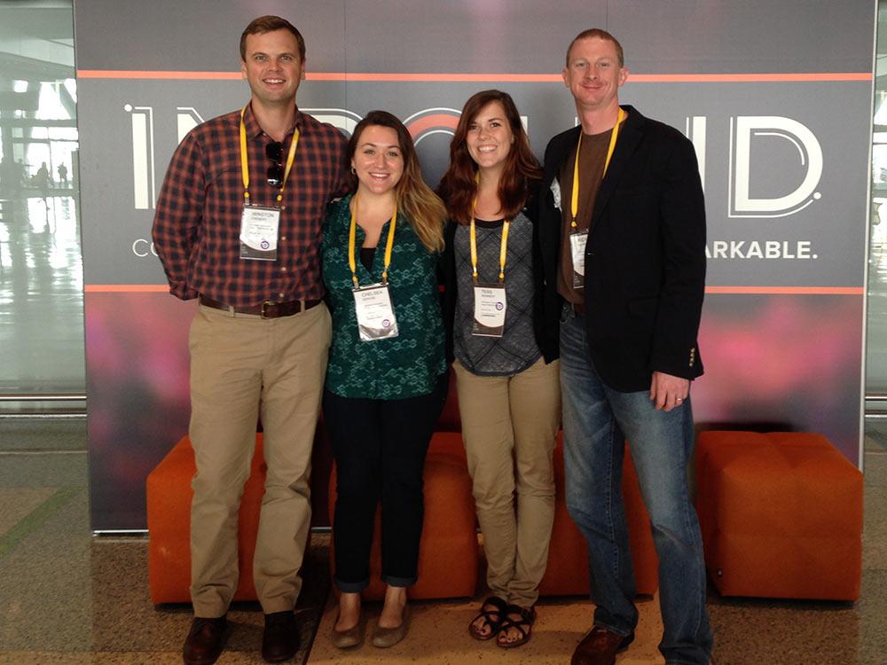 INBOUND 2014 Marketing Team Photo