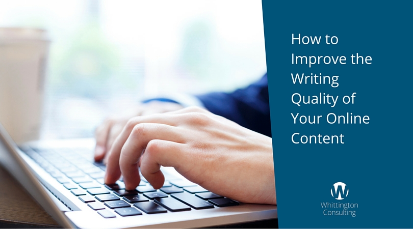 How to Improve the Writing Quality of Your Online Content