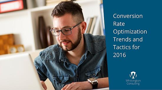 Conversion Rate Optimization Trends and Tactics for 2016