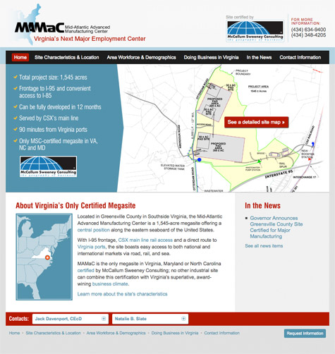 MAMaC website launches