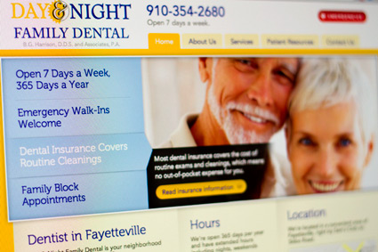 Day and Night Family Dental Homepage
