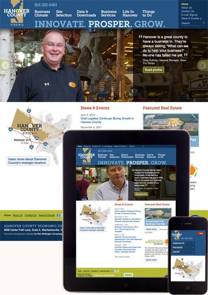 Hanover County Economic Development screenshots