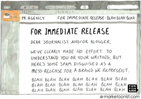 Ho hum press release