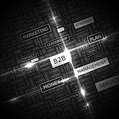 B2B illustration