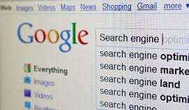 Google search for search engine optimization