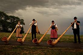 Alphorn band
