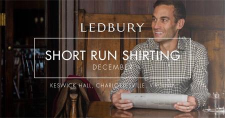Ledbury Short Run Shirting image