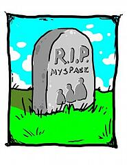 Tombstone for Myspace