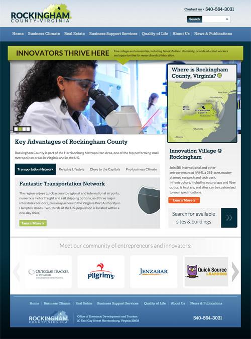 Rick Whittington Consulting Unveils New Website for Rockingham County Economic Development