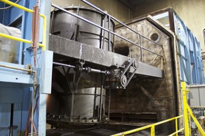 Process of manufacturing a plastic tank