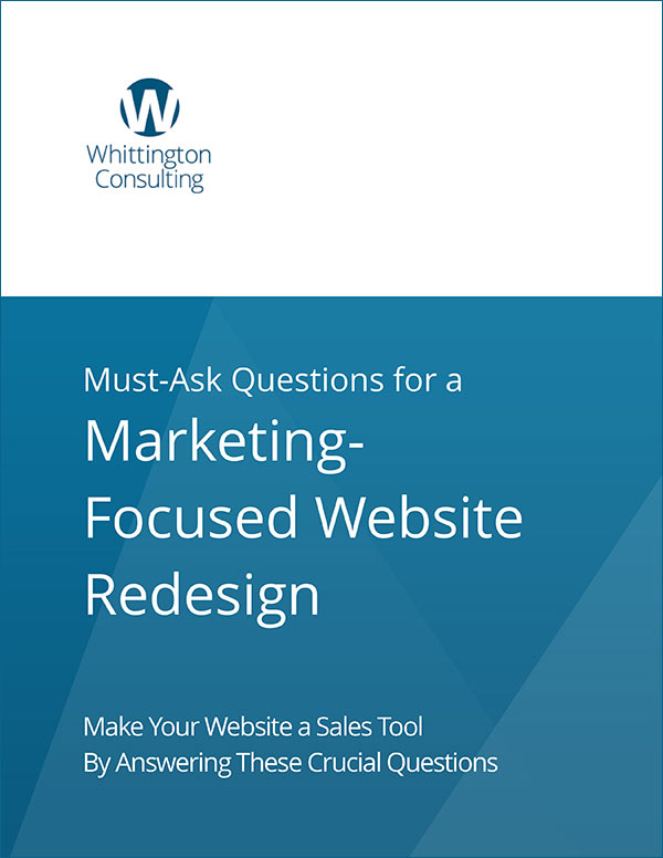 Web Design Questionnaire Cover