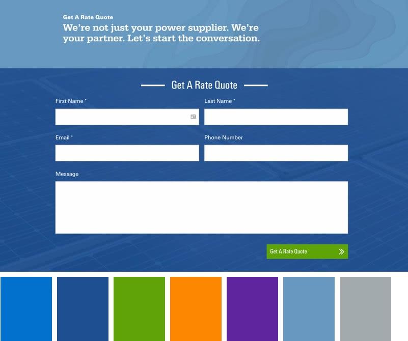 Wireframes & Color Palette - Case Study Single