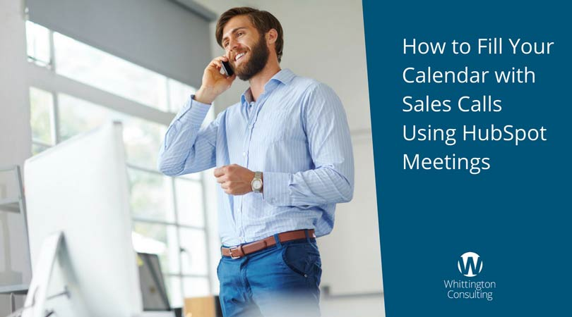 How to Fill Your Calendar with Sales Calls Using HubSpot Meetings
