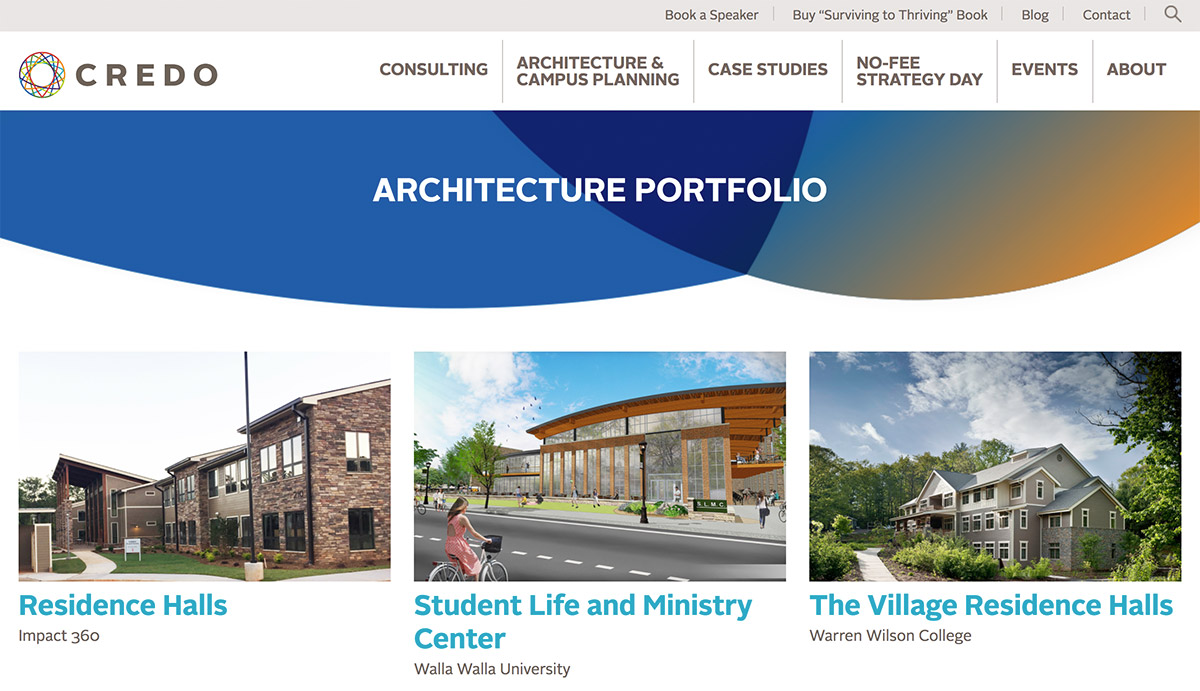 Credo architecture portfolio