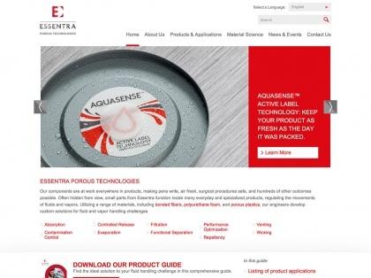 Essentra Porous Technologies