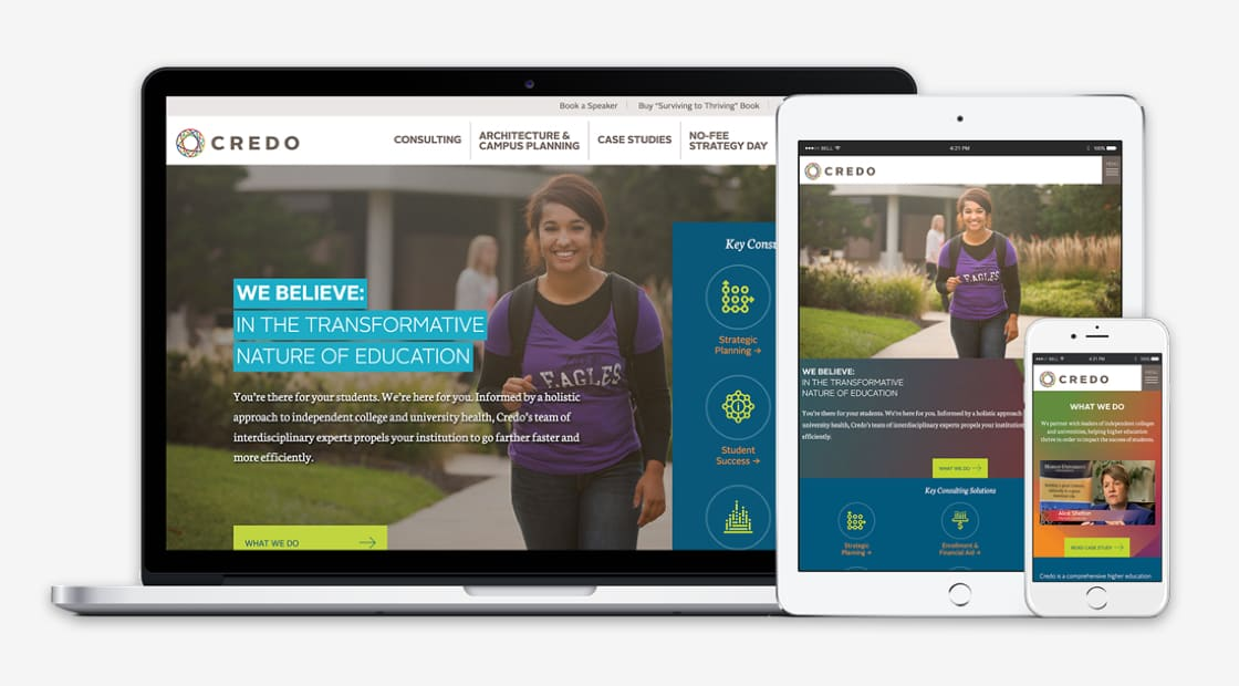 A Behind-The-Scenes Look at a Website Redesign for Credo