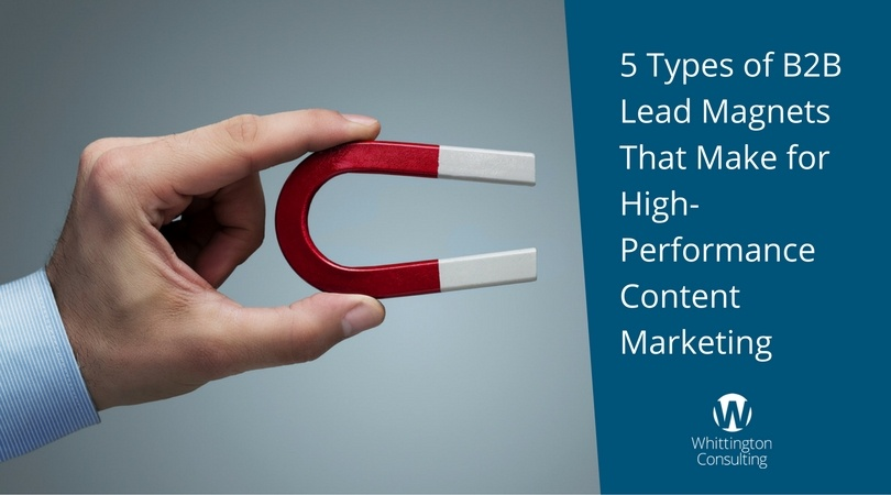5 Types of B2B Lead Magnets That Make for High-Performance Content Marketing
