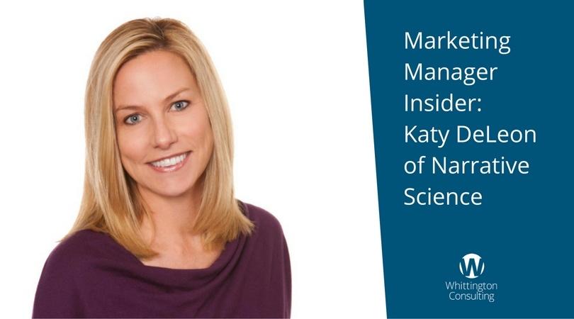 Marketing Manager Insider: Katy DeLeon of Narrative Science