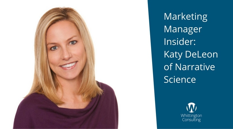 Marketing Manager Insider: Katy DeLeon of Narrative Science