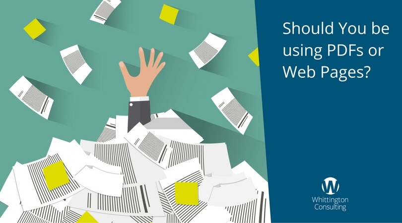 Should You be using PDFs or Web Pages?