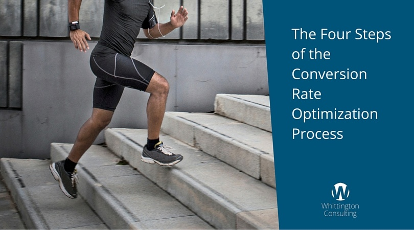The Four Steps of the Conversion Rate Optimization Process