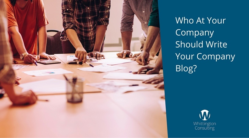 Who At Your Company Should Write Your Company Blog?