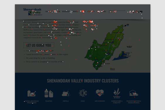 SVP Homepage Heatmap