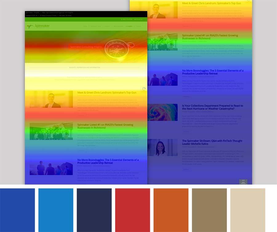 Spinnaker Heatmap & Color Palette