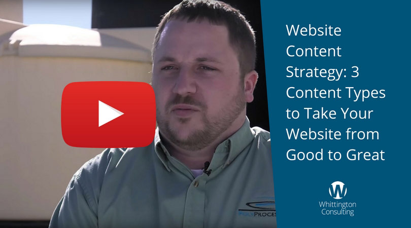 Website Content Strategy: 3 Content Types to Take Your Website from Good to Great