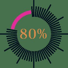 Website lead calculator results graph